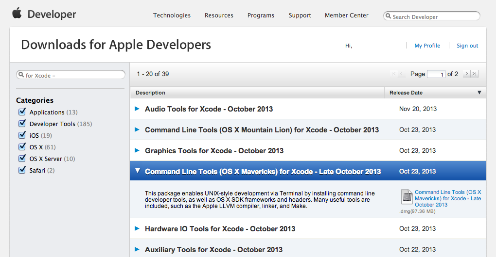 xcode-install-mavericks-command-line-tools